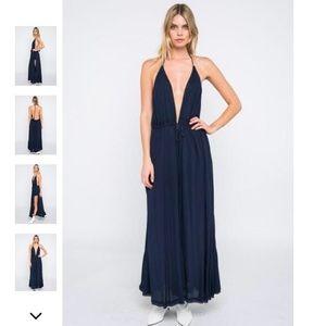 5dc76f7a3e8ea Skylar + Madison Dresses - Skylar + Madison Halter Maxi Dress & Short Set